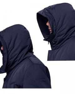 Куртка NORD navy капюшон