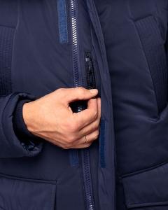 Куртка NORD navy маленький карман