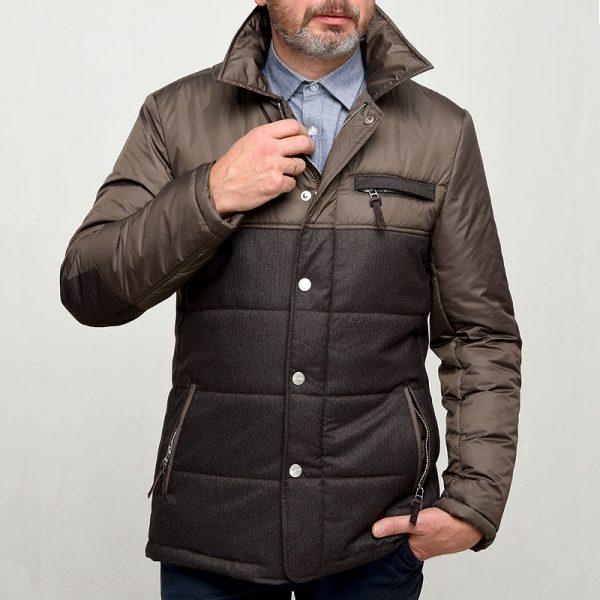 Куртка демисезонная DUBLIN-4 коричневая