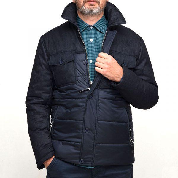 Зимняя синяя мужская куртка SWIFT-M