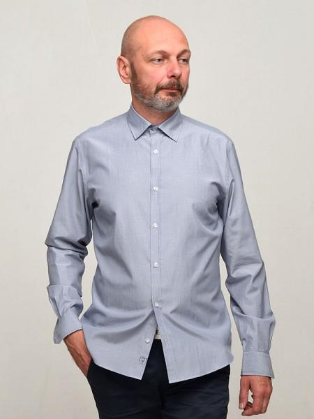 Рубашка в тонкую полоску ZETTA 1