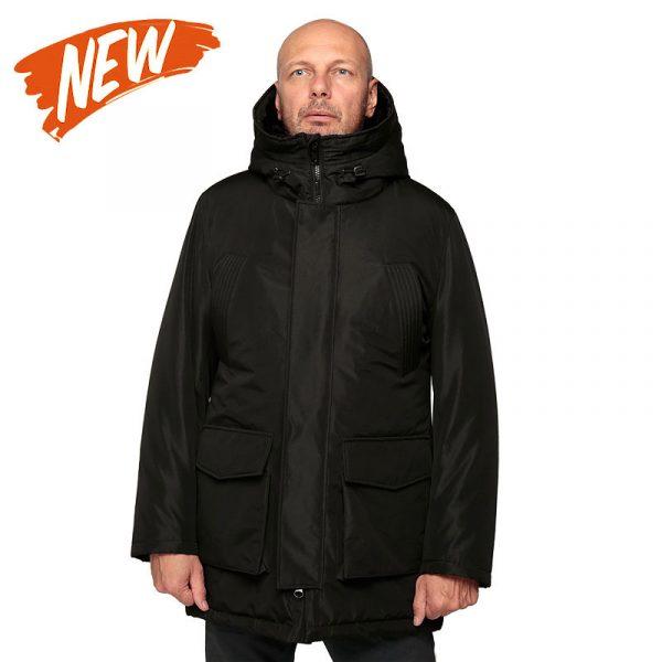 Зимняя куртка с капюшоном NORD black