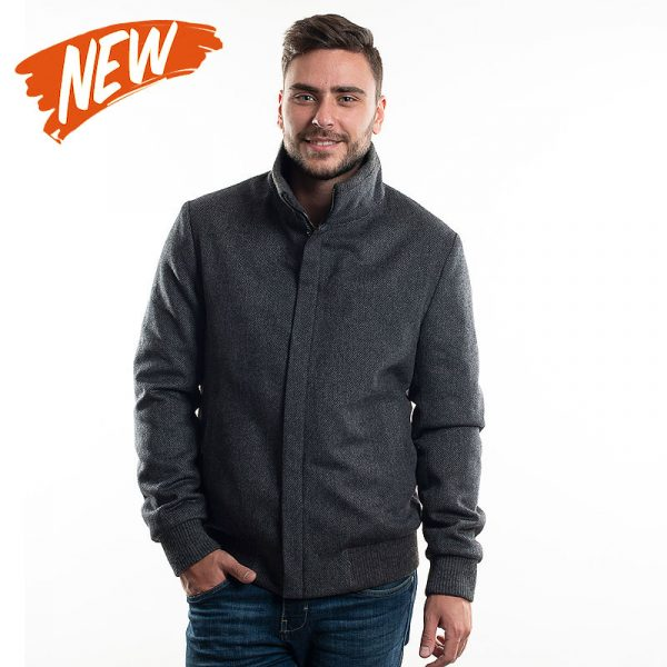 куртка з пальтової тканини LARSON